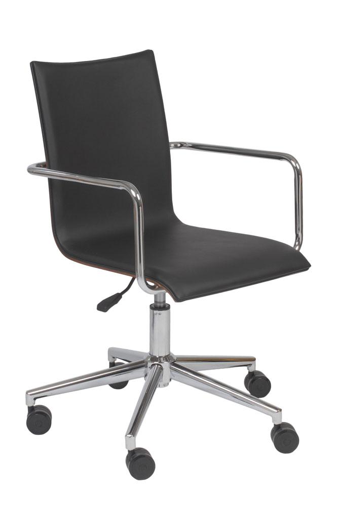 Home gt gt office furniture gt gt office chairs gt gt modern black office chair
