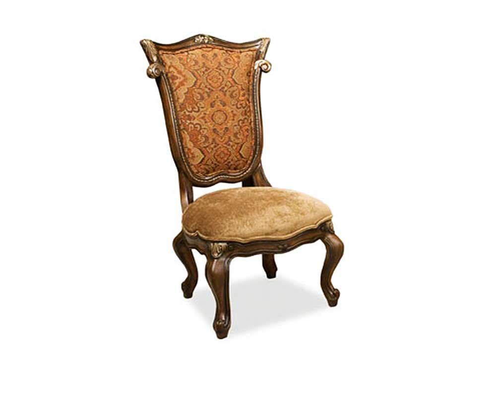 Exceptional BT 292 Traditional Chair With Shield Back In Mahogany Finish