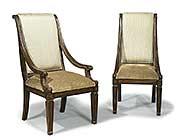 Bt 296 Italian Traditional Dining Arm Chair Benetti S