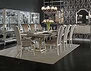 Hollywood Swank Large Dining Table by AICO