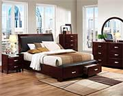 Lecia Bed Collection HE 737 with Storage