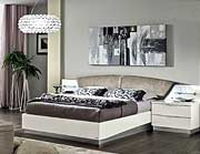 White Platform Bed EF427