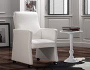 Contemporary White Office Chair Z-056