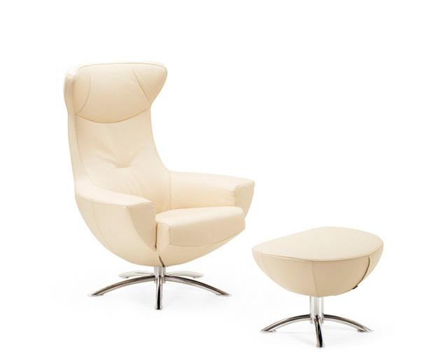 Fjords Baloo Swing Beige Chair By Hjellegjerde Recliners