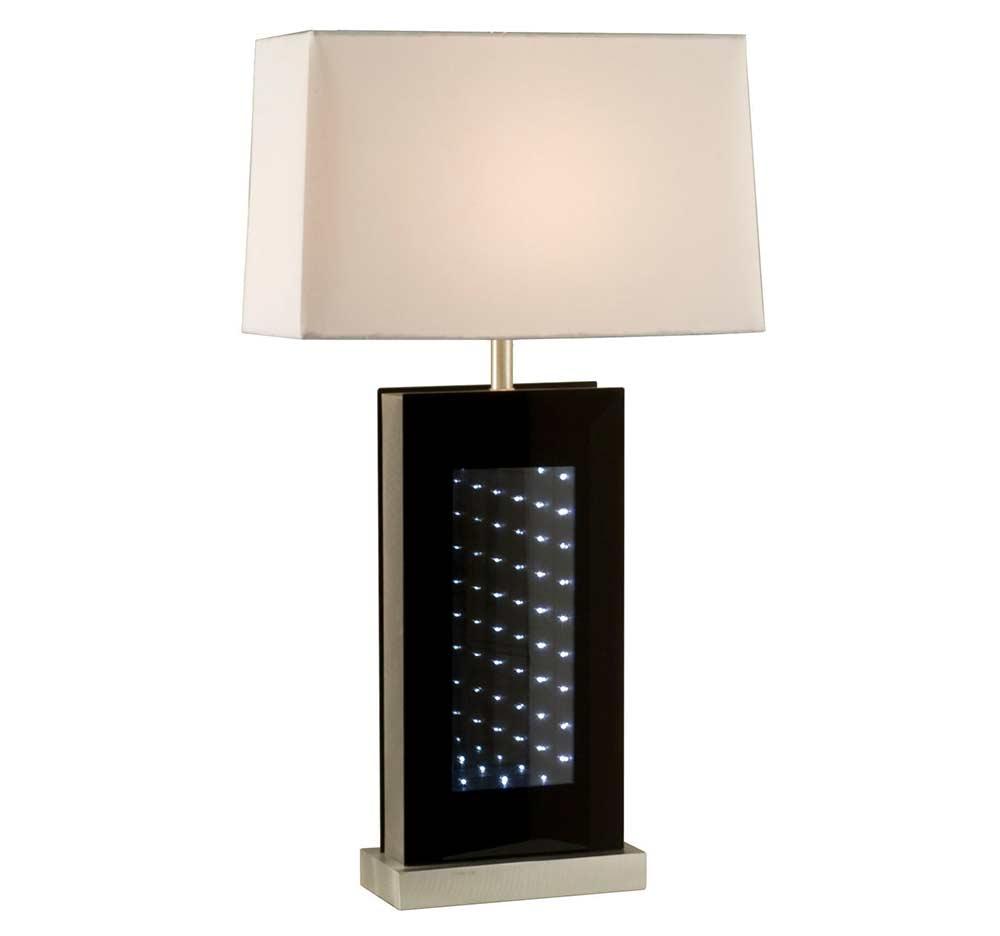 Black Glass Table Lamp Nl139 Floor Amp Table