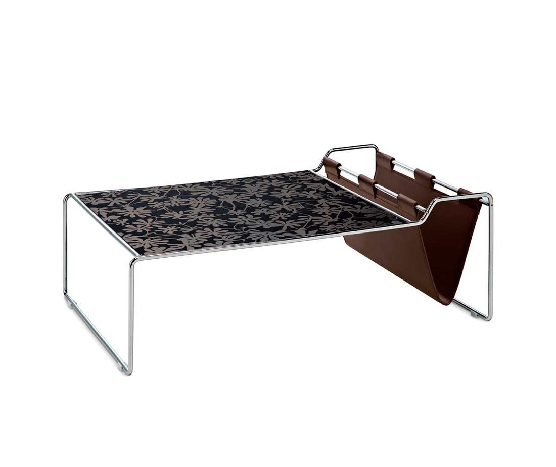 Coffee Table With Magazine Holder By Domitalia Domitalia