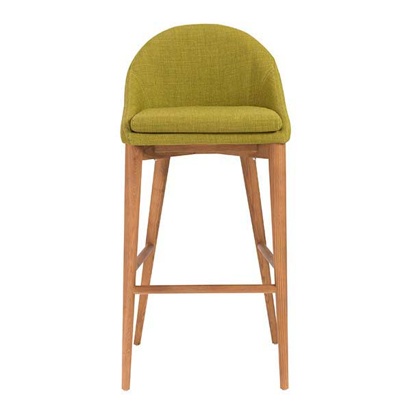 Baruch B Bar Stool In Light Gray Bar Stools