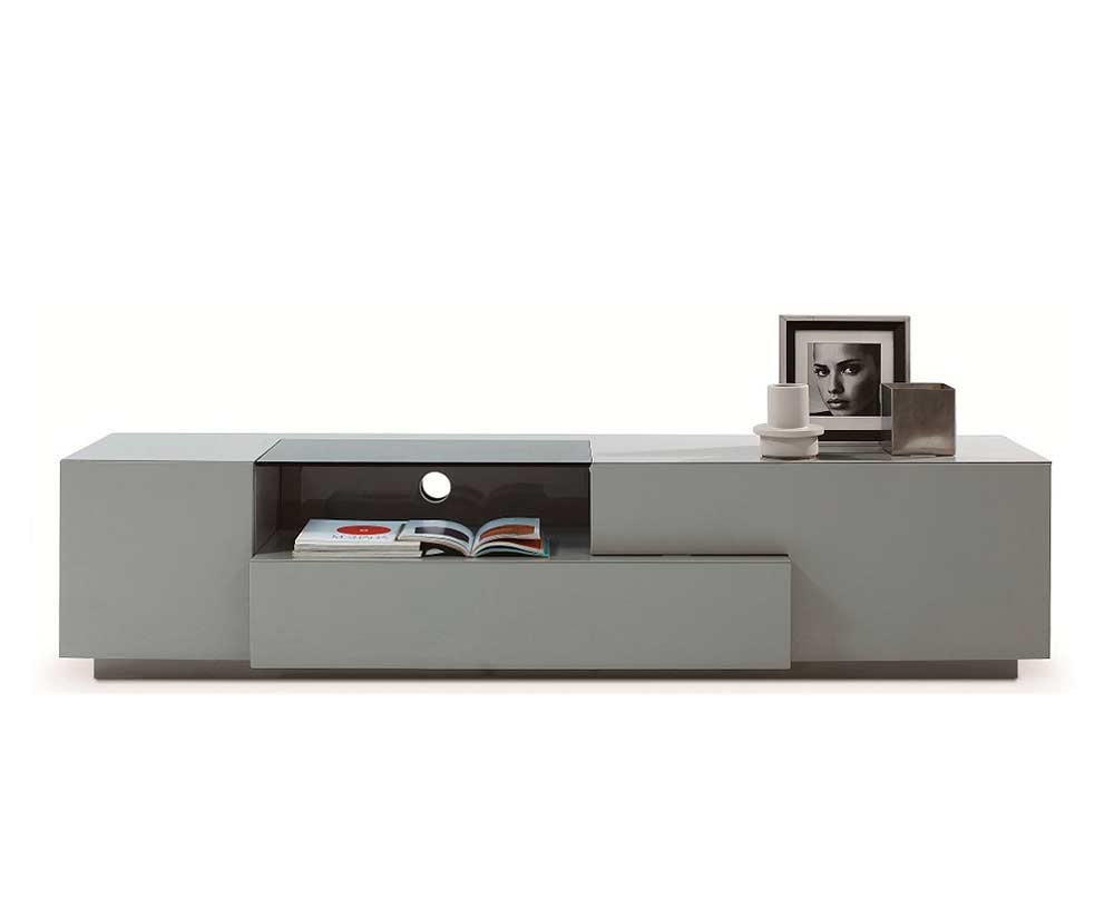 Grey Lacquer Tv Unit Sj015 Tv Stands