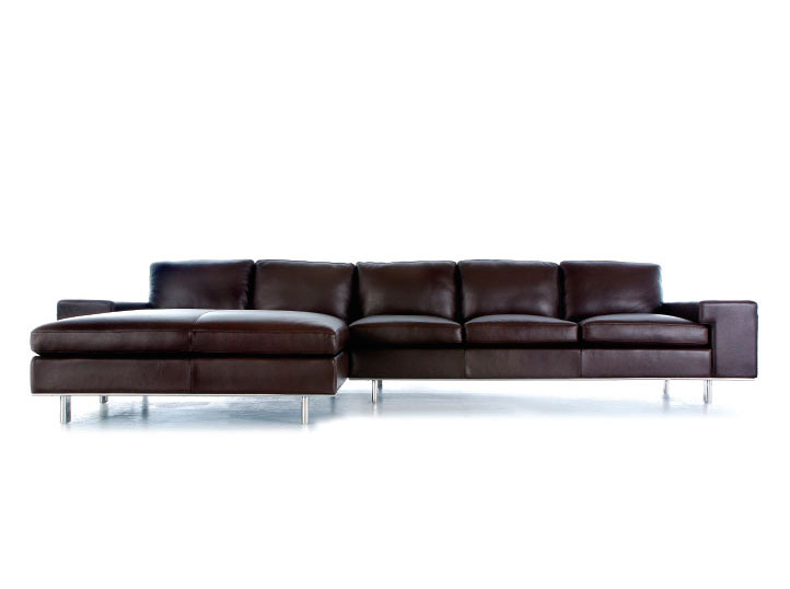 Leather Sectional Sofa Ginus Leather Sectionals