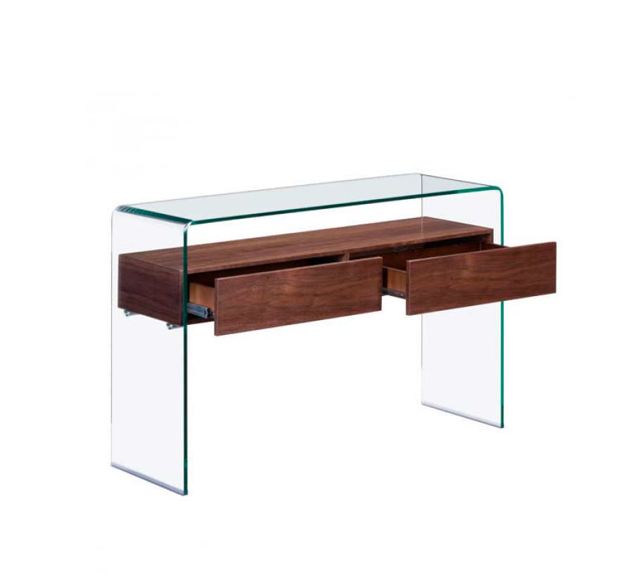 Modern walnut coffee table z068 contemporary Modern coffee and end tables