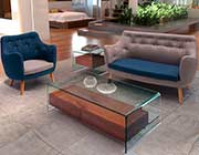 Modern Walnut Coffee Table Z068