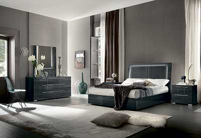 Versilia bed by Alf furniture