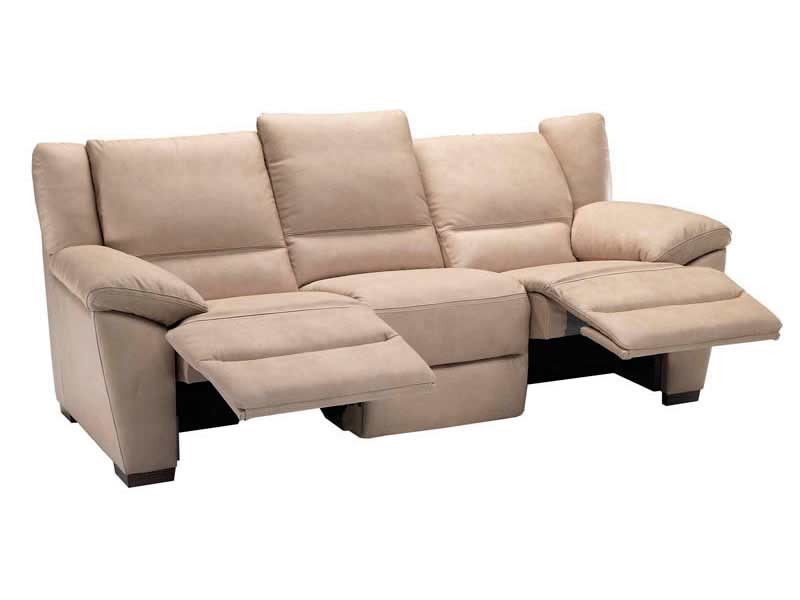 Natuzzi Reclining Leather Sofa A319 Recliners