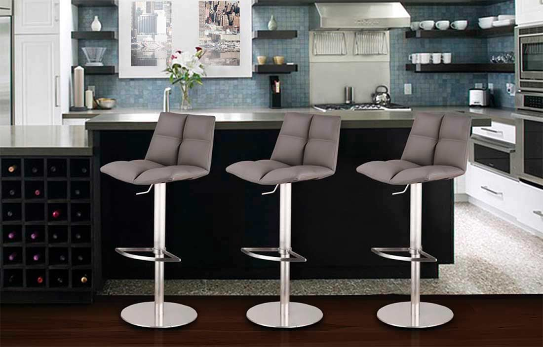 Amazing Air Lift Swivel Bar Stool Arl Raimon Bar Stools Gmtry Best Dining Table And Chair Ideas Images Gmtryco