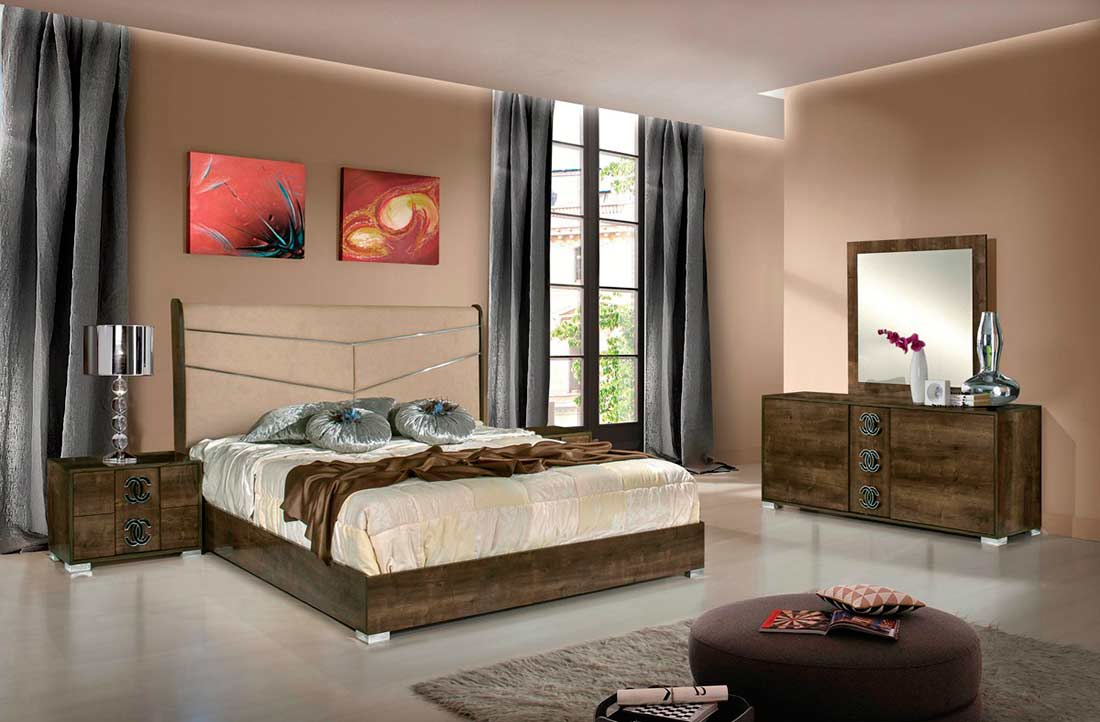 Eco leather italian bed vg adelfa modern bedroom furniture for Contemporary bedroom furniture