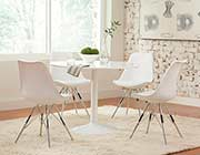 High Gloss White Dining Table CO261