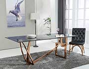Rosegold Base Dining table VG547