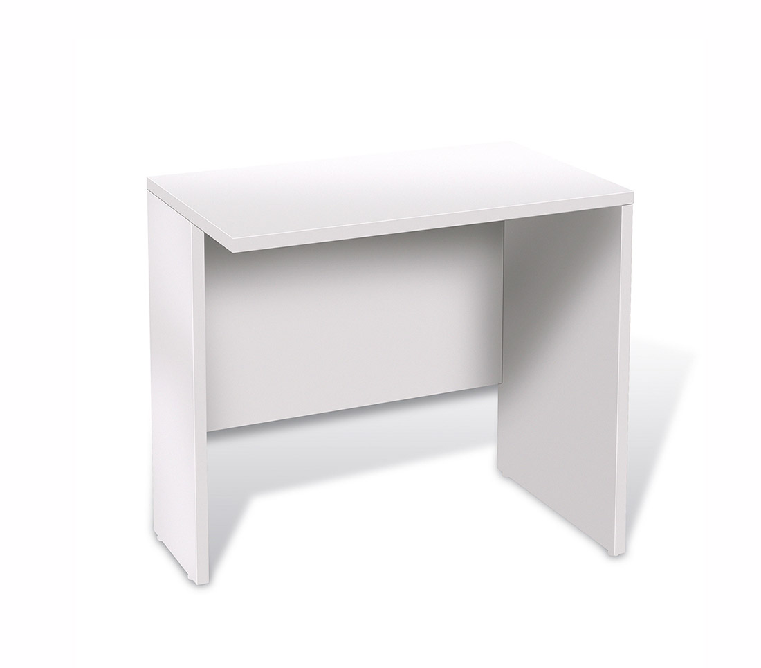 Unique Furniture 100 Collection White Desk 14723 Desks