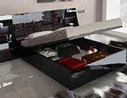 High Gloss Lacquer Bed EF Marinda