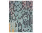 Blue Tones Hand-tufted Wool Rug FR 932