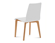 Jude-L White Chair by Domitalia