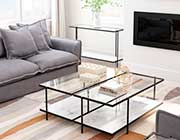 Clear Glass Coffee table Z995
