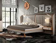 Ultra Modern Cream Bed EF Arise