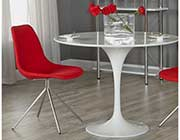 Astrid Round Dining table by Eurostyle