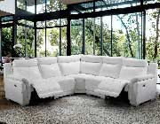 Sectional Sofa with Two Recliners EF 931