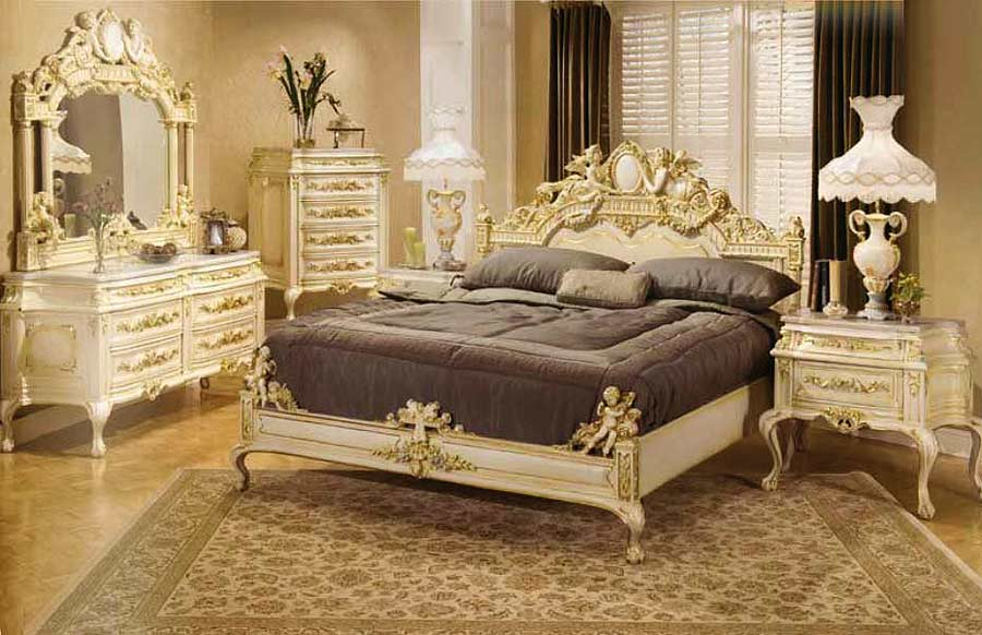 Baroque bed santa maria baroque bedroom furniture for French baroque bed
