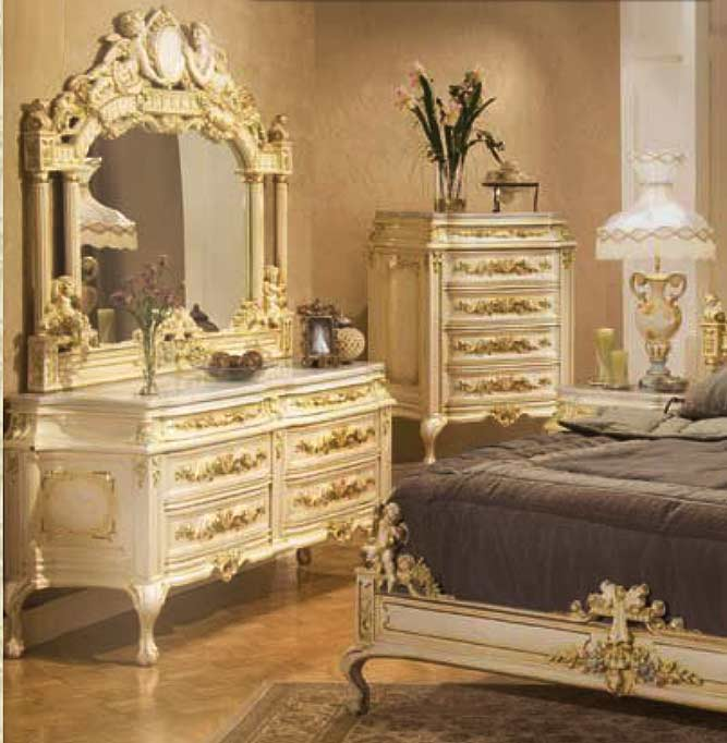 ... Baroque Bed Santa Maria ...