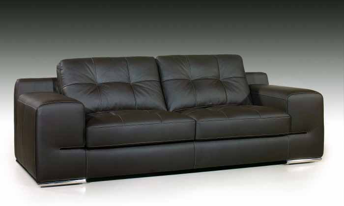 Fiore sofa sectional italian leather beige leather for Exclusive sofa