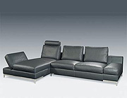 Modern Italian Leather sofa P 67